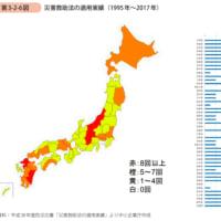 ほとんどの都道府県で災害が発生している!!