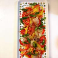 カラフル シーフードサラダ