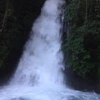 能高瀑布へ行って来ました。