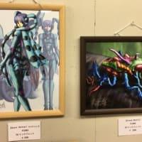 「幻想甲虫展」開催中です。