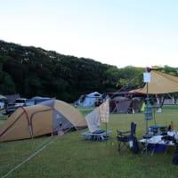 スノーピーク土佐清水でキャンプ ②-②