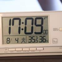連日猛暑!
