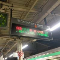特急湘南号に乗ったよ(湘南3号・大船→小田原)