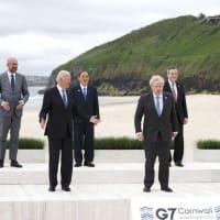 コロナ起源、再調査を=感染症危機再発防止も宣言―G7首脳