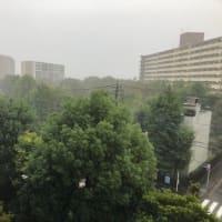 台風19号接近中