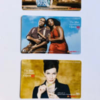 METライブビューイング2019-2020のムビチケカード3枚セットを取る  /  又吉直樹著「劇場」を読む