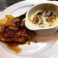 若鶏のソテー生姜風味&なすミートグラタン