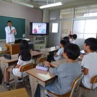 堺市立土師小学校、飼育委員会の皆さんと