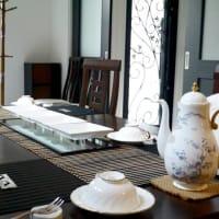 1月 テリーヌ・オ・ショコラ・デピスのテーブル