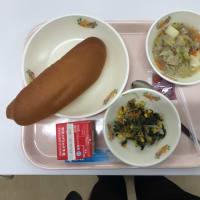 中学校給食(試食)