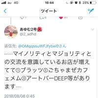 あゆむ2号さんより    マイノリティ×マジョリティ=???