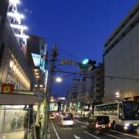 静岡鉄道は新静岡駅を発車するA3002 (2019年11月 オマケは静岡中心部夜景など)