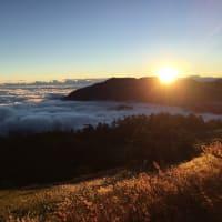 『合歓山』の夕陽・星空・朝日を見て来ました!
