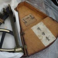 赤松小三郎の遺品を上田市立博物館に寄託してきました