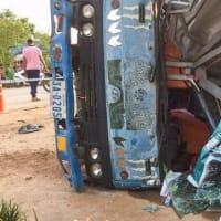 中国人カップルが、カンボジアの交通事故で死亡した。