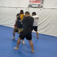 (水)キックボクシングスパーリングクラス20:30〜