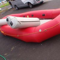 完売しました。 エアー(チューブテリー)製ラフト 14SB 8人乗り  中古艇  20万円
