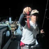8/17(土):マイカ小ぶりも調子良くヒット!!後半は潮目変わり^^;根魚はヒラメにウッカリカサゴにホウボウヽ(*^^*)ノ