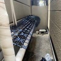 亀戸エアコン工事、高い所と狭い所