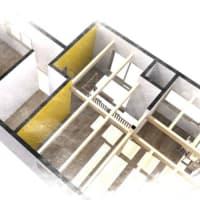(仮称)暮らしのシーンに和モダンのエスプリが集う格子の家新築計画設計デザイン・LDKと使い勝手、フレキシブルな空間で時間と質と過ごし方を整理整頓するように。