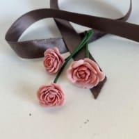 ポリマークレイのバラ