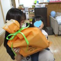誕生日プレゼントのリアクション