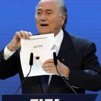2018年:ロシア/2022年:カタール W杯開催国決定