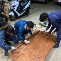 植木屋の車両整備