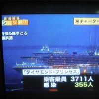 クルーズ船の米国人40人が感染「帰国せず日本で入院」