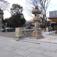 軍歌演奏はこの場所でと、靖国神社社務所が指定していた