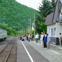 白滝駅90年(オホーツク管内遠軽町。JR石北線)