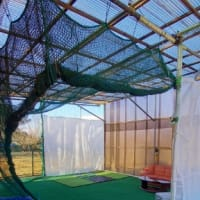 防風シート施工
