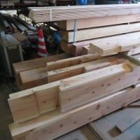 木材の切込みも・・・