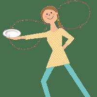 イルチブレインヨガの「皿まわしダイエット」でくびれ美人に!