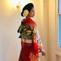 レトロでモダンな横濱和装花嫁