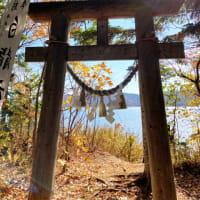 ヤイタイ島の白龍神王の祠