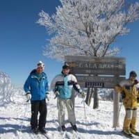 今シーズンの初スキー