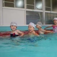 みどり 4歳児 カッパ作り・プール遊び