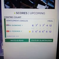 その1 凄いゲームに疲れました興奮しましたジョコVSフェデラー