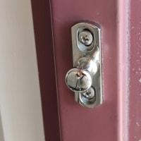 【玄関ループ錠】腐食が酷く...ステンレス製に交換完了