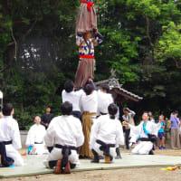 今治春祭り 継ぎ獅子(大西地区)