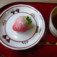 なかにしの苺の和菓子♪