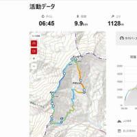 線で繋ぐ山歩き 寒風山~笹ヶ峰