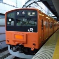 中央線の201系