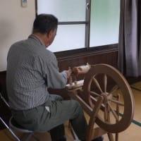 田布施コットンクラブ 羊の毛を紡いで毛糸に、他