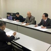 ◆綾瀬市内の平和団体が市の担当者と基地の騒音や自衛隊への名簿提供などについて懇談