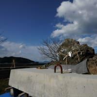 福浦湾にて