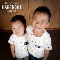 8/20 七五三・兄弟smile♫ 札幌写真館フォトスタジオハレノヒ