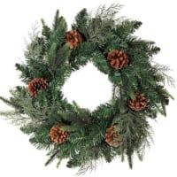 クリスマス ステイブルグリーンリース 50cm 通販