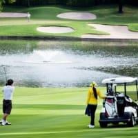 ゴルフ スタイルでは タイは 日本より先進国かな?
